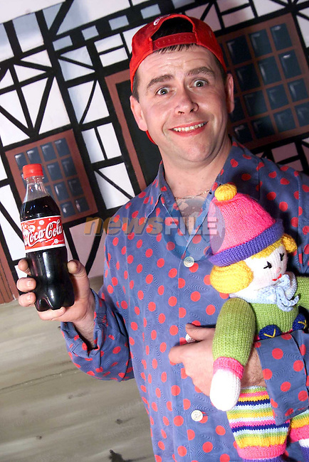John Kirwan who played Simple Simon in Drogheda Pantomime Society's production of Beauty and the Beast..Picture: Paul Mohan/Newsfile