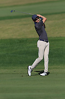 Daan Huizing (NED) on the 5th fairway during Round 1 of the Challenge Tour Grand Final 2019 at Club de Golf Alcanada, Port d'Alcúdia, Mallorca, Spain on Thursday 7th November 2019.<br /> Picture:  Thos Caffrey / Golffile<br /> <br /> All photo usage must carry mandatory copyright credit (© Golffile | Thos Caffrey)