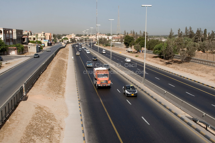 Tripoli, Libya - Divided Highway, Motorway