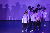 St Albans, England. 10 April 2016. Students aged 5 – 18 from the Living the Dream School of Performing Arts perform in the 10th anniversary Easter Showcase with street dance, contemporary dance, acting, musical theatre and singing. The production is a variety showcase created entirely by young people who want to make a difference through the arts, have fun, grow in talent and confidence and feel empowered to believe in themselves and their dreams. The Dream Foundation was set up in 2006 by Zoë Jackson. Photo © Bettina Strenske/Vibrant Pictures 2016