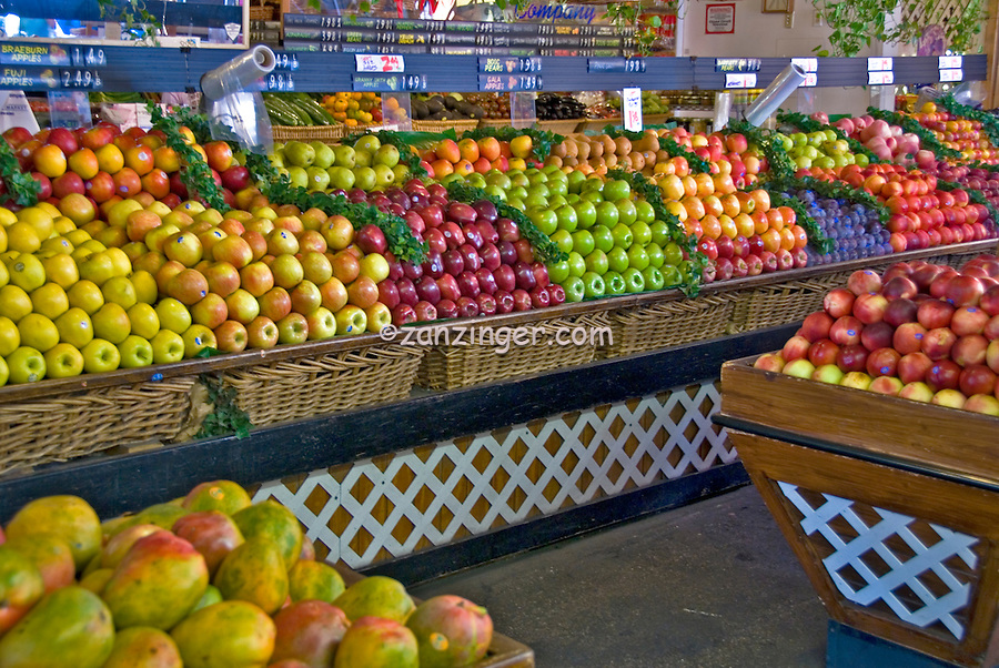 Farmers' Market Third and Fairfax Los Angeles, CA