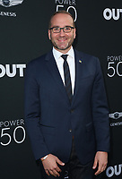 HOLLYWOOD, CA - AUGUST 10: Chad Griffin, at OUT Magazine's Inaugural POWER 50 Gala & Awards Presentation at the Goya Studios in Los Angeles, California on August 10, 2017. Credit: Faye Sadou/MediaPunch