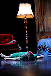 CHAMBRE 26....Choregraphie : Valerie RIVIERE..Compagnie : Paul et les Oiseaux..Decor : ..Lumiere : Eric BLOSSE..Costumes : by (PLO)..Avec :..Katia NOIR..Lieu : Theatre Paul Eluard..Ville : Bezons..Le : 25 11 2009..© Laurent PAILLIER / photosdedanse.com..All rights reserved