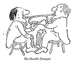 Hoffnung's Orchestra. The Double-Trumpet