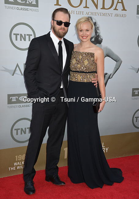 Alison Pill, Joshua Leonard 200 Honored with American Film Institute Life Achievement Awards Gala at the Dolby Theatre in Los Angeles.
