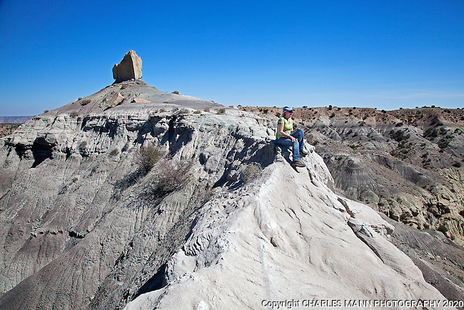 Angel Peak Recreation Area is a picnic and day hiking area about ten miles south of the town of Bloomfield in the northwest corner of New Mexico.