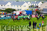 Action from the start of the Carhan Plate at the Cahersiveen Races on Saturday.