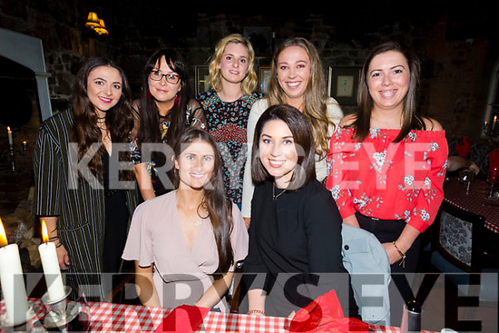 Friends enjoying a girls night out at Finnegans on Saturday Pictured front l-r Niamh Murphy and Katie Brosnan Back l-r Oonagh Lynch, Siobhan Daly, Karen Walsh, Rebecca Mcmahon and Megan O'Brien