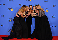 Laura Dern, Nicole Kidman, Zoe Kravitz, Reese Witherspoon &amp; Shailene Woodley at the 75th Annual Golden Globe Awards at the Beverly Hilton Hotel, Beverly Hills, USA 07 Jan. 2018<br /> Picture: Paul Smith/Featureflash/SilverHub 0208 004 5359 sales@silverhubmedia.com