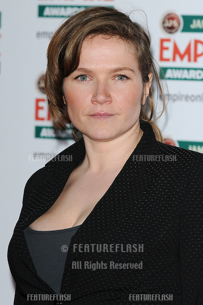 Jessica Stevenson arriving for the Empire Film Awards 2010 at the Grosvenor House Hotel, London. 28/03/2010  Picture by: Steve Vas / Featureflash