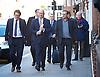 UKIP Leadership Announcement <br /> at the Emmanuel Centre, Westminster, London, Great Britain <br /> 28th November 2016 <br /> <br /> Nigel Farage MEP<br /> former UKIP Leader <br /> <br /> and <br /> <br /> Paul Nuttall <br /> new UKIP Leader <br /> <br /> Photograph by Elliott Franks <br /> Image licensed to Elliott Franks Photography Services