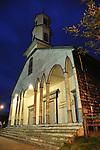 Iglesia de Dalcahue / Chiloé (Chile).