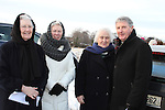 Sr. Martina Rooney, Rita Walsh and Sr. Boso with Bishop of Meath Michael Smith at the Turning of the First Sod on the Site of the new school on the Bryanstown Crossroute...(Photo credit should read Jenny Matthews www.newsfile.ie)....This Picture has been sent you under the conditions enclosed by:.Newsfile Ltd..The Studio,.Millmount Abbey,.Drogheda,.Co Meath..Ireland..Tel: +353(0)41-9871240.Fax: +353(0)41-9871260.GSM: +353(0)86-2500958.email: pictures@newsfile.ie.www.newsfile.ie.
