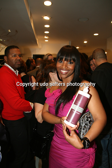 Amoy Pitters attends Celebrity Hairstylist Amoy Pitters & Host Joy Bryant Celebrate The Opening of Amoy Couture Hair Salon with Music by DJ Cassidy, New York, 2/16/10