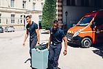 journée à la caserne Chaligny (Paris) avec le jeune volontaire en service civique Blanc.