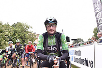 Picture by Allan McKenzie/SWpix.com - 05/09/2017 - Cycling - OVO Energy Tour of Britain -  Stage 3 Normanby Hall Country Park to Scunthorpe -<br /> Elia Viviani