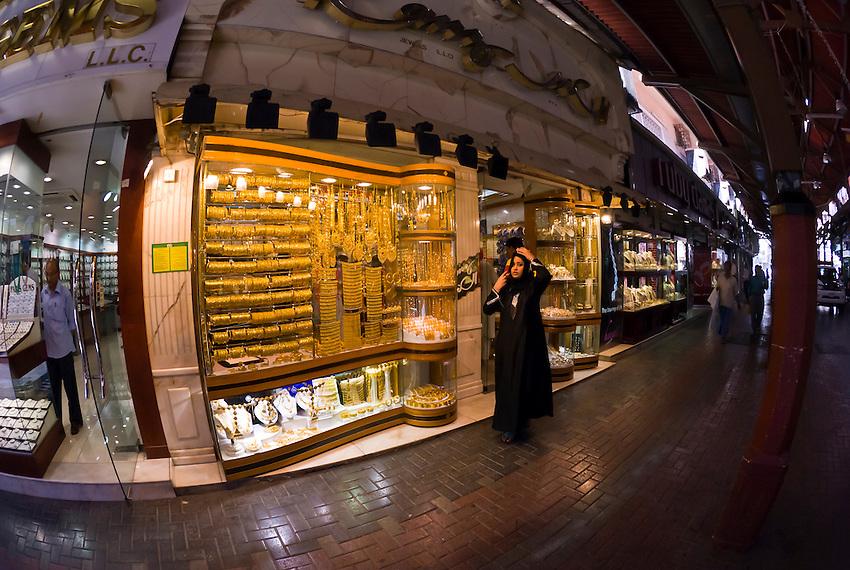 Jewelry store, Gold Souk, Dubai, United Arab Emirates