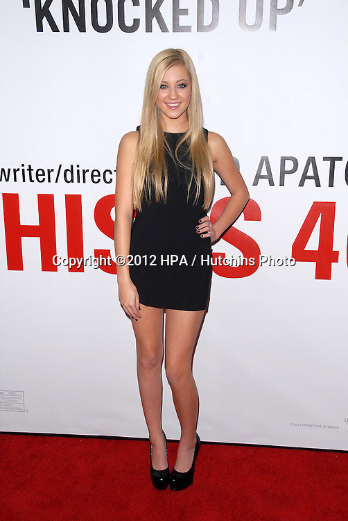 LOS ANGELES - DEC 12:  Ava Sambora arrives to the 'This is 40'  Premiere. at Graumans Chinese Theater on December 12, 2012 in Los Angeles, CA