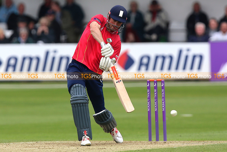 Alastair Cook in batting action for Essex during Essex Eagles vs Gloucestershire, Royal London One-Day Cup Cricket at The Cloudfm County Ground on 4th May 2017