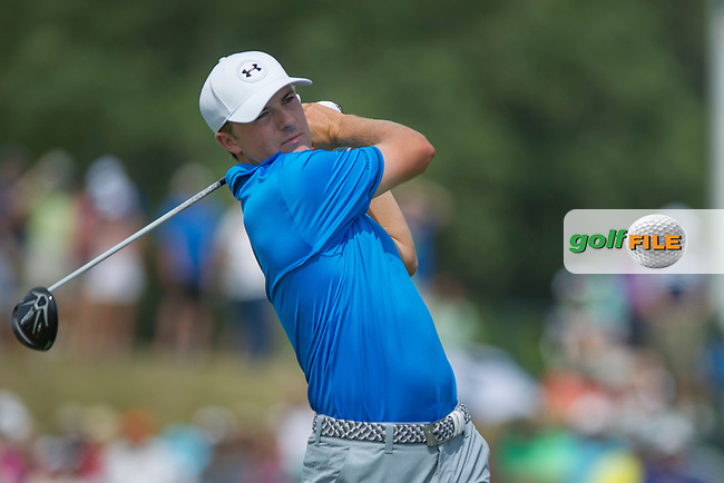 Jordan Spieth during the final round of the 2015 USPGA Championship at Whistling Straits (Photo: Anthony Powter)