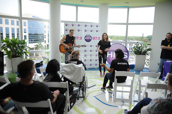 HOLLYWOOD, FL -  MARCH 30: Daya performs at  Joe DiMaggio Children's Hospital with radio station HITS 97.3 on March 30, 2016 in Hollywood, Florida.Credit: mpi04/MediaPunch