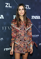 NEW YORK, NY - DECEMBER 4:  Amina Muaddi at the 32nd FN Achievement Awards at the IAC Building in New York City on December 4, 2018.  <br /> CAP/MPI/JP<br /> &copy;JP/MPI/Capital Pictures
