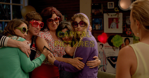 Keren Berger, Ofer Shechter, Anat Waxman, Dana Ivgy, Efrat Dor, Yael Bar-Zohar<br /> in Cupcakes (2013) <br /> *Filmstill - Editorial Use Only*<br /> CAP/FB<br /> Image supplied by Capital Pictures