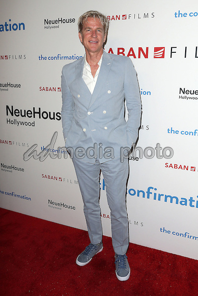 """15 March 2016 - Hollywood, California - Matthew Modine. """"The Confirmation"""" Los Angeles Premiere held at NeueHouse Hollywood. Photo Credit: Sammi/AdMedia"""
