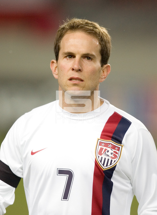 Eddie Lewis at Fritz-Walter Stadium, Kaiserslautern, Germany, Wednesday, March 1, 2006. USA 1-0.