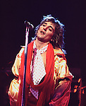 Rod Stewart 1974 in The Faces..© Chris Walter..