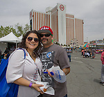 Jerri and Mateo during the Cinco de Mayo festival held at the Grand Sierra Resort in Reno, Nevada  on Saturday, May 5, 2018.