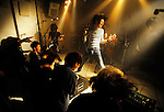 A band performs at Mosaic live house in  Tokyo, Japan. ..