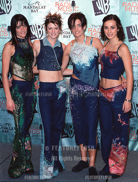 28OCT99:  Pop group B*WITCHED at The WB Radio Music Awards at the Mandalay Bay Resort & Casino, Las Vegas..© Paul Smith / Featureflash