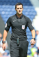 Referee Andrew Madley<br /> <br /> Photographer Alex Dodd/CameraSport<br /> <br /> The EFL Sky Bet Championship - Preston North End v Burton Albion - Sunday 6th May 2018 - Deepdale Stadium - Preston<br /> <br /> World Copyright &copy; 2018 CameraSport. All rights reserved. 43 Linden Ave. Countesthorpe. Leicester. England. LE8 5PG - Tel: +44 (0) 116 277 4147 - admin@camerasport.com - www.camerasport.com