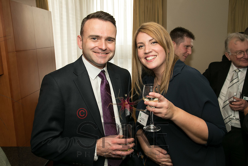 Neal Myers of Sunaxis Ltd and Emma Vallance of Skeleton Productions