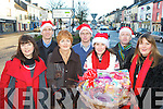 Castleisland traders who are all stocked up for all your Chirstmas needs l-r: Grace O'Connor In Style, Bill Costello David Costello Shoes, Margaret O'Connor Treasure Chest, Jeremy Burke Tomo Burkes Electrical, Mary Philpott Sweet tooth Sweet shop,  Tom McCarthy McCarthy's bar and Sheila Murphy Molly's Shop