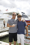 Sean Carrigan and friend Eric -  Actors from Y&R, General Hospital and Days donated their time to Southwest Florida 16th Annual SOAPFEST at the Cruisin' and Schmoozin' Marco Island Princess in Marco Island, Florida on May 24, 2015 - a celebrity weekend May 22 thru May 25, 2015 benefitting the Arts for Kids and children with special needs and ITC - Island Theatre Co.  (Photos by Sue Coflin/Max Photos)