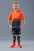 Pictured: 09 May 2018<br /> Re: Swansea City AFC studio photo-shoot at the Barn, in the Youth Academy facility in Swansea, Wales, UK.