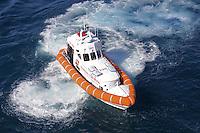 - Coast Guard patrol boat<br /> <br /> - motovedetta della Guardia Costiera
