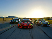 IMSA WeatherTech SportsCar Championship<br /> Sebring February Test<br /> Sebring, Florida, USA<br /> #86 Michael Shank Racing Acura NSX, GTD: Katherine Legge, Alvaro Parente, Trent Hindman, #93 Michael Shank Racing Acura NSX, GTD: Lawson Aschenbach, Justin Marks, Mario Farnbacher, #36 CJ Wilson Racing Acura NSX, GTD: Marc Miller, Till Bechtolsheimer<br /> World Copyright: Richard Dole<br /> LAT Images