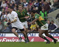 25/05/2002 (Saturday).Sport -Rugby Union - London Sevens.England vs South Africa.Henry Paul[Mandatory Credit, Peter Spurier/ Intersport Images].