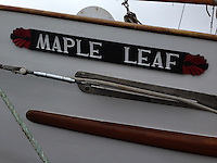 SV Maple Leaf, Port of Sidney, British Columbia, Canada