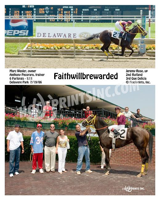 Some Kind of Magic winning at Delaware Park on 7/19/06