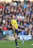 19/04/2016 Sky Bet League Championship  Burnley v Middlesbrough<br /> George Boyd challenges Jordan Rhodes