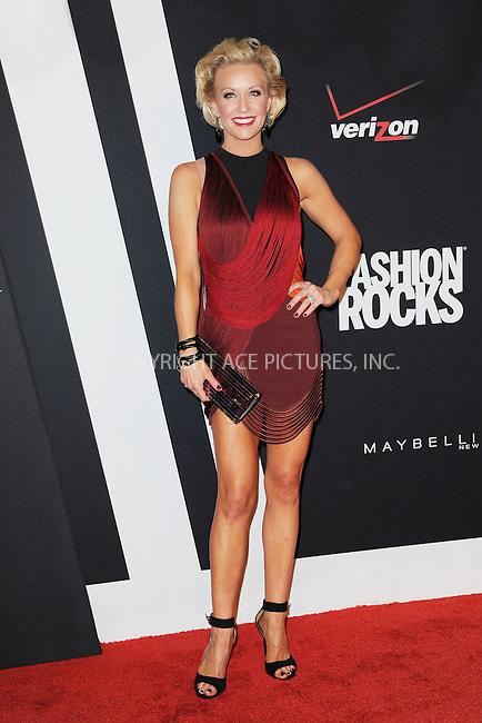 WWW.ACEPIXS.COM<br /> September 9, 2014 New York City<br /> <br /> Caroline Boyer attending Fashion Rocks 2014 at the Barclays Center September 9, 2014 in New York City.<br /> <br /> Please byline: Kristin Callahan/AcePictures<br /> <br /> ACEPIXS.COM<br /> <br /> Tel: (212) 243 8787 or (646) 769 0430<br /> e-mail: info@acepixs.com<br /> web: http://www.acepixs.com