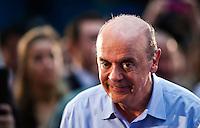 SAO PAULO, SP, 24 JUNHO 2012 - CONVENÇAO PSDB - PSD - O tucano José Serra lança sua candidatura durante convenção do PSDB no Ginásio Mauro Pinheiro (Ibirapuera) nesse domingo, 24. FOTO: VANESSA CARVALHO - BRAZIL PHOTO PRESS.