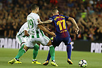Paco Alcacer in action during La Liga game between FC Barcelona v Betis at Camp Nou