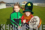 PROUD: Locals in Castlegregory walked with pride through the village during their St. Patricks Day parade on Saturday..