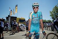 Lieuwe Westra (NLD/Astana)<br /> <br /> 2014 Tour de France<br /> stage 12: Bourg-en-Bresse - Saint-Eti&egrave;nne (185km)