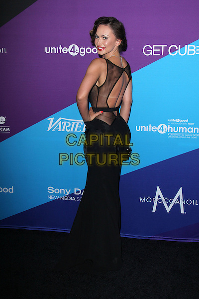 CULVER CITY, CA - February 27: Karina Smirnoff at the unite4:good and Variety present unite4:humanity, Sony Studios, Culver City,  February 27, 2014. <br /> CAP/MPI/JO<br /> &copy;Janice Ogata/MediaPunch/Capital Pictures